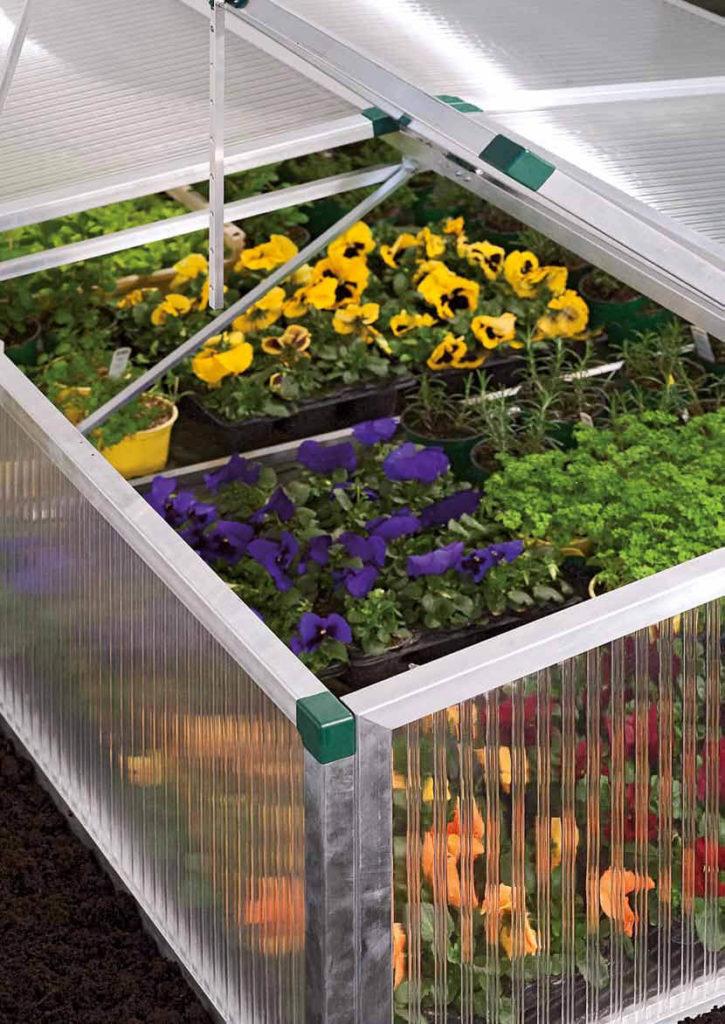 Garten PLEXIGLAS®-Bedachungen und Verglasungen
