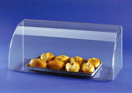 Besonders bei Lebensmitteln ist PLEXIGLAS® ein perfektes Material um ihre Produkte hygienisch aber ansprechend zu zeigen!