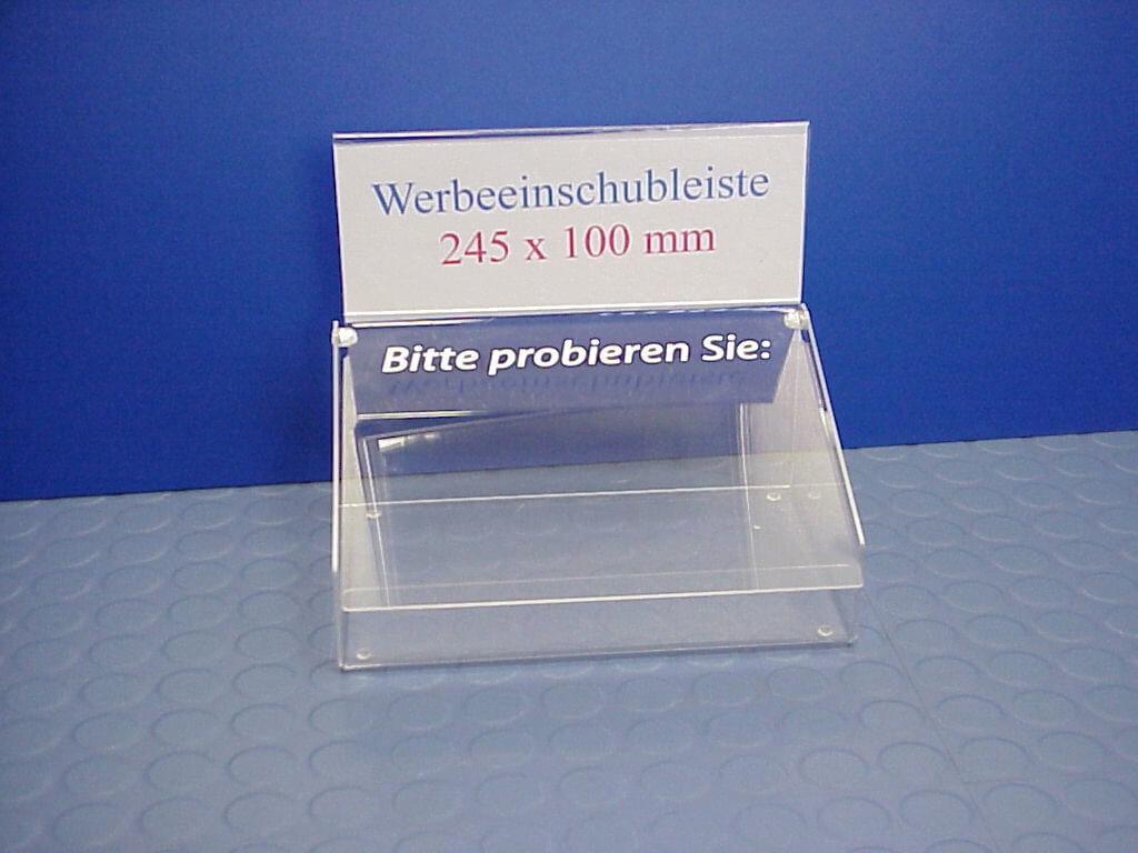 Visitenkartenbehälter aus Kunststoff