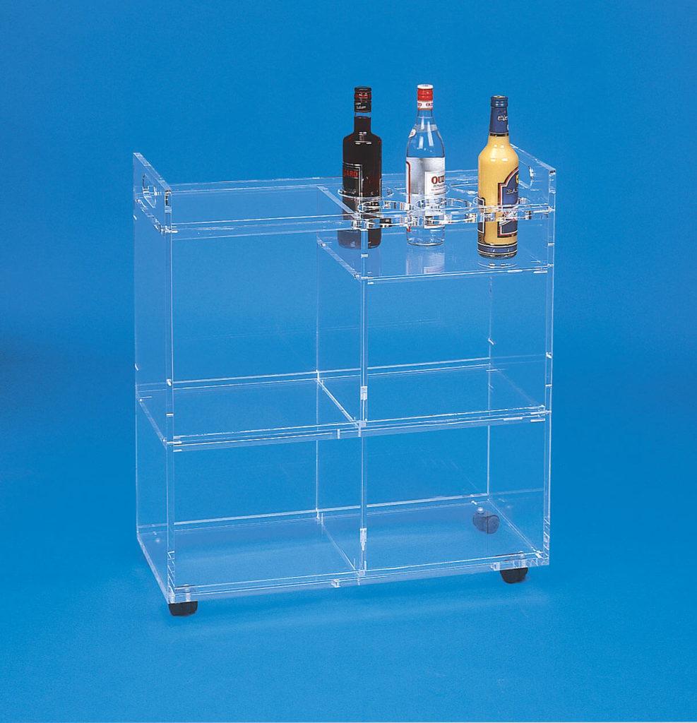 Möbel aus Kunststoff/ Plexiglas® - Bar