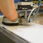 Fräse zur Bearbeitung von Kunststoffprodukten